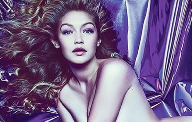 Gigi Hadid Poses Naked for Tom Ford Fragrance