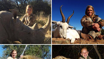 Kendall Jones, Hunting Cheerleader -- Dad Says She's Actually A Humanitarian