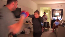 Ronda Rousey -- I TRAIN IN HOTEL ROOMS ... Who Needs a Frickin' Gym!?