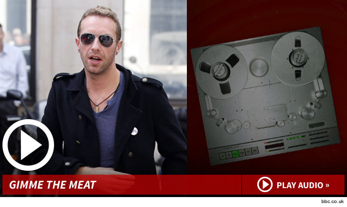 Chris Martin Vegetarian