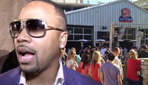 Columbus Short -- Bar Fight ... Arrested For Being Really Drunk on 4th
