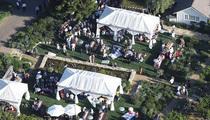 Jessica Simpson -- Pre-Wedding BBQ at Uber Fancy Resort