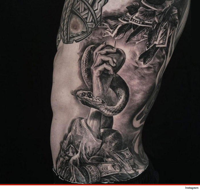 Colin Kaepernick New Tattoo