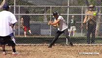Shia LaBeouf -- Hitting the Field ... NOT the Bottle