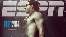 Michael Phelps Goes Naked For ESPN's Sixth Annual Body Issue!
