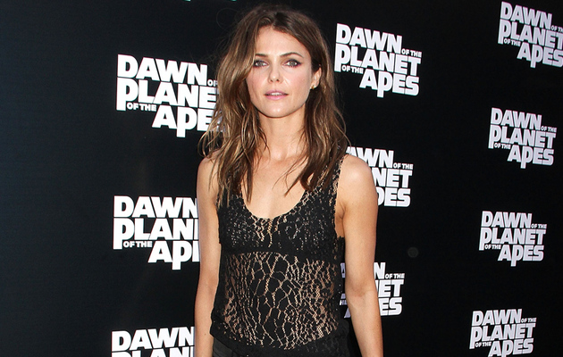 "Keri Russell Looks Insanely Hot at ""Dawn of the Planet of the Apes"" Screening"