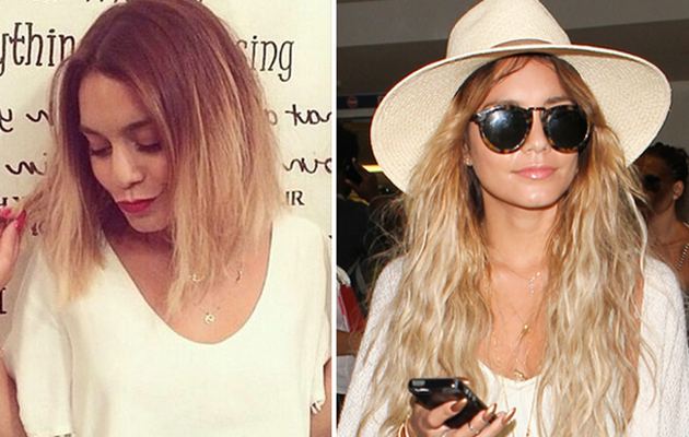 Vanessa Hudgens Chops Off Her Hair -- See Short New 'Do!