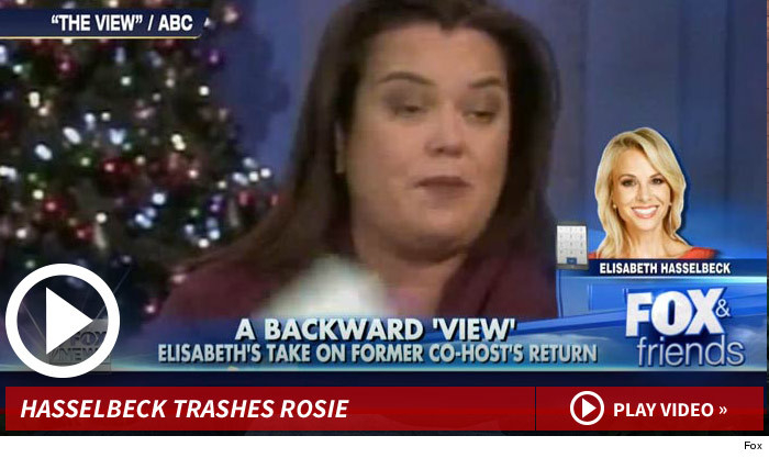 Elisabeth Hasselbeck Rosie O'Donnell Returning The View