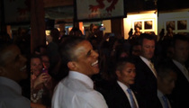 President Barack Obama -- Laughs Off Weed Offer ... Puff, Puff, No Pass
