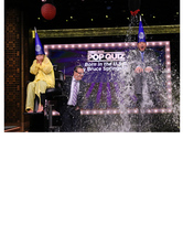 "Kelly Ripa and Jimmy Fallon Get Soaked Playing ""Pop Quiz"" -- Watch Now!"