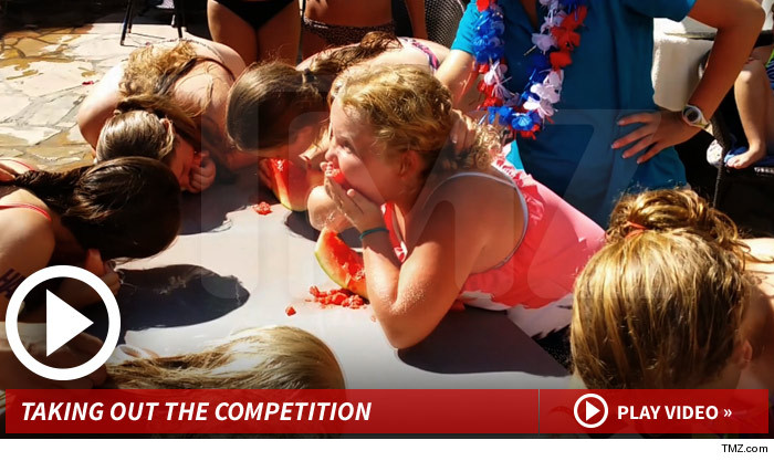 Honey Boo Boo Watermelon Eating Contest