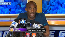 Kobe Bryant -- I Go to TMZ Sports ... For ACCURATE Sports Info