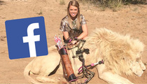 Facebook Page With 'Kill Threat' Against Hunter/Cheerleader Kendall Jones -- DOWN