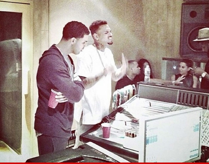 Chris Brown and Drake Beef Squashed