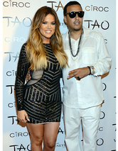French Montana Posts Pic of Khloe Kardashia