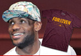 LeBron James -- 'FOR6IVEN' Shirts Explode