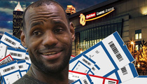 Lebron James -- Cavaliers Season Tickets ... Going, Going... Damn Near Gone