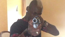 Soccer Star Mario Balotelli -- Takes Aim At 'Haters' ... WITH A SHOTGUN!!!