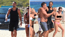 Will Smith -- Topless Greetings for the Sorta Fresh Prince of Ibiza