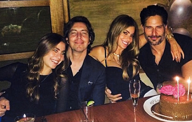Sofia Vergara Gets Cozy With Joe Manganiello at Birthday Dinner -- See the Hot Pic!