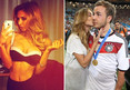 World Cup -- German Hero Mario Gotze ... Peep Mein GF's Hot Body