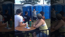 Rapper Action Bronson -- Port-A-Potty Break During Concert ... Without Missing a Beat