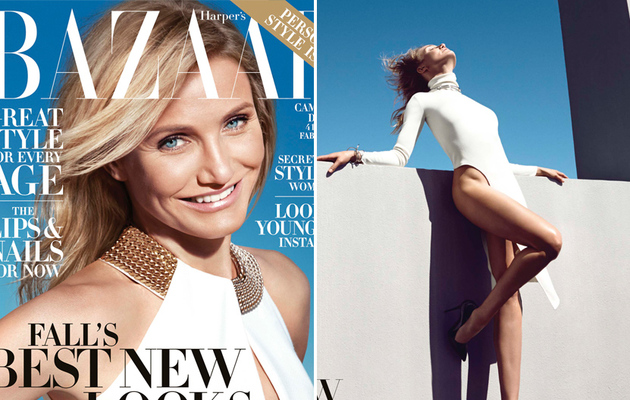 "Cameron Diaz Says Hooking Up With Drew Barrymore Would Make Her ""Vomit"""