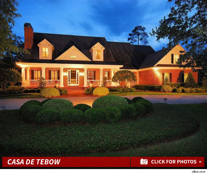 Tim Tebow -- Buys $1.4 Million Pad ... Neighbors Are Pumped!!!