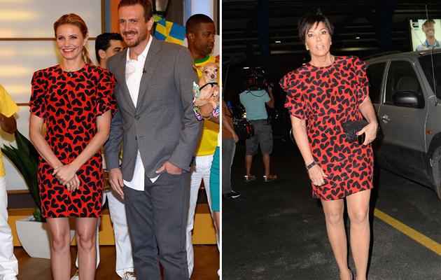 Dueling Dresses: Cameron Diaz vs. Kris Jenner