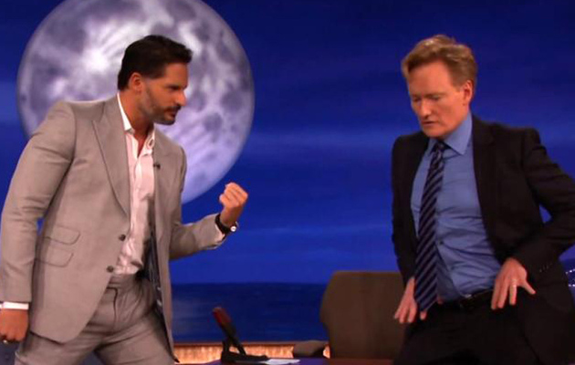 Joe Manganiello Teaches Conan O'Brien Some Sexy Stripper Moves