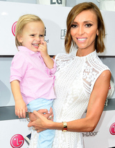 Giuliana Rancic and Adorable Son Duke Hit the Red C