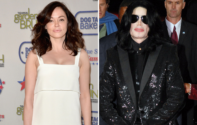 "Rose McGowan Tells Instagram Users to ""F--k Off"" After Michael Jackson Comparison"