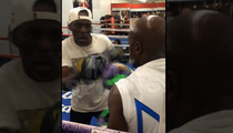 Floyd Mayweather -- Blows Off ESPY After-Parties ... Hits Boxing Gym Instead