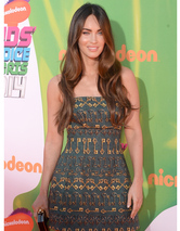 Megan Fox Stuns in First Red Carpet Appea