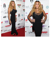 Wendy Williams Shows Off Crazy Cleavage & Tiny Waist at 50th Birthday B