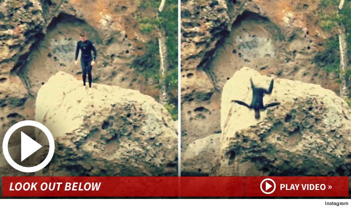 Justin Bieber Cliff Diving
