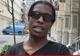 A$AP Rocky -- He Slapped Me, Now I'm Slapping His Wallet ... Say
