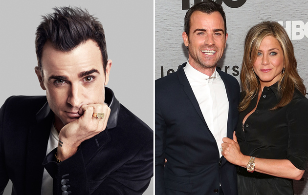 """Justin Theroux Talks About His """"Three-Headed Baby"""" with Jennifer Aniston"""