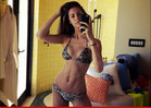 Katherine Webb -- HONEYMOON BIKINI SELFIE ... Wins