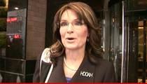 Sarah Palin -- Ticketed for Speeding ... 'I Wasn't Speeding, I Was Qualifying'