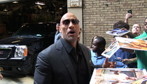 Dwayne 'The Rock' Johnson -- Don't Ask Hercules How Much He Benches! That's Sooo High School