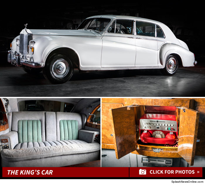 Elvis Presley Car Auction