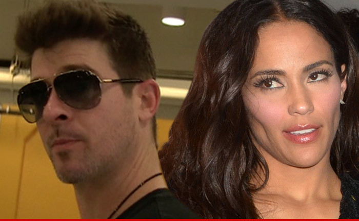 Robin Thicke — My Marriage to Paula Patton is Over