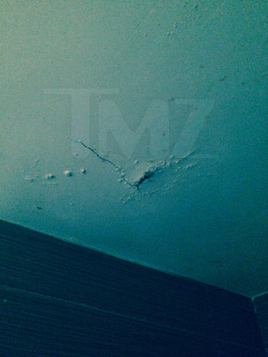 Sean Stewart's Apartment Damage