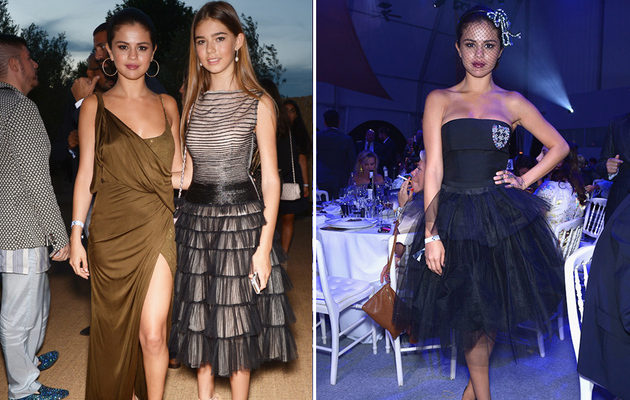 Selena Gomez Goes Glam at Leonardo DiCaprio's Foundation Gala