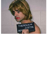 "Justin Theroux Jokes About ""Bad Boy"" Image by Googling His ""Mug Shots"""