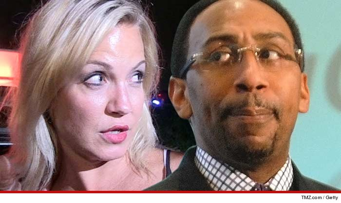 Michelle Beadle Stephen A Smith Domestic Violence