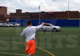 Johnny Manziel -- FIRES PIGSKIN THROUGH CAR