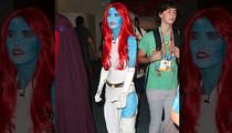 Audrina Patridge -- Please Love Me, Nerds … Working Blue at Comic-Con