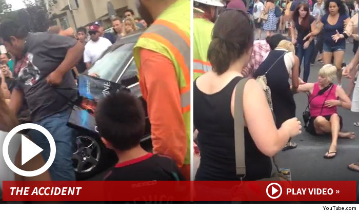 Bystander Struck By Car During Comic-Con 'Zombie Walk'